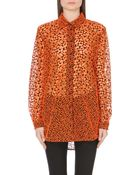 Christopher Kane Broderie Cut-Out Shirt - For Women - Lyst