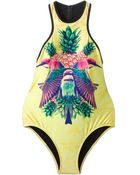 We Are Handsome Printed Swimsuit - Lyst