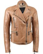 Belstaff Hackthorn Leather Jacket - Lyst