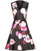 Giambattista Valli Printed Silk-Twill Dress - Lyst