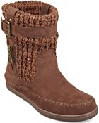 G By Guess Women'S Ruddy Sweater Booties - Lyst
