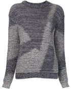 Theyskens' Theory Knit Pullover Sweater - Lyst