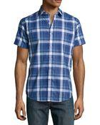 Robert Graham Sandstone Tailored Check Sport Shirt - Lyst