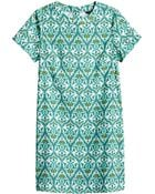H&M Short-Sleeved Dress - Lyst