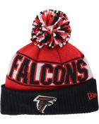 New Era Atlanta Falcons Rep Your Team Pom Knit Hat - Lyst