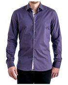 Stone Rose Purple Egyptian Cotton Sport Shirt - Lyst