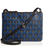 Liberty London Dark Blue Iphis Bayley Cross Body Pouch - Lyst