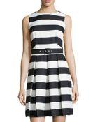 Chetta B Fit-And-Flare Dress - Lyst