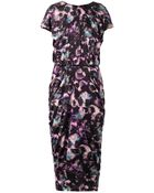 Saloni Apsara Cloudbreak-Print Dress - Lyst