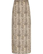 River Island Brown Animal Print Maxi Skirt - Lyst
