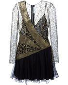 Blumarine Lamé Dress - Lyst