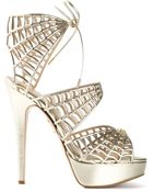 Charlotte Olympia 'Caught In Charlotte'S Web' Sandals - Lyst