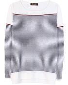 Loro Piana Striped Baby Cashmere Sweater - Lyst