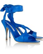 Brian Atwood Temptation Leather Sandals - Lyst