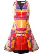 Peter Pilotto Printed Dress - Lyst