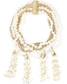 Rosantica Chain And Pearl Necklace - Lyst