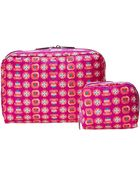 LeSportsac Extra Large Rectangle And Square Cosmetic Combo - Lyst