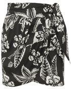 Isabel Marant Tundra Printed Silk Mini Skirt - Lyst