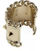 Givenchy Stud And Chain Cuff - Lyst