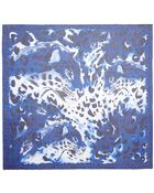 Alexander McQueen Leopard Print Silk Chiffon Scarf - Lyst