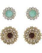 Topshop Mixed Stud Earring Pack - Lyst