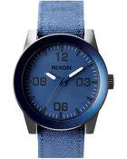 Nixon Corporal Blue Ano Watch - Lyst