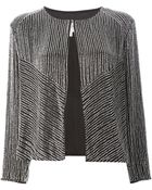 Armani Beaded Embellished Jacket - Lyst