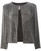 Armani Beaded Embellished Jacket - Lyst