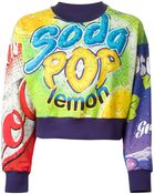 Moschino Soda Pop Cotton Sweatshirt - Lyst