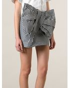 Marc By Marc Jacobs Giant Bow Skirt - Lyst