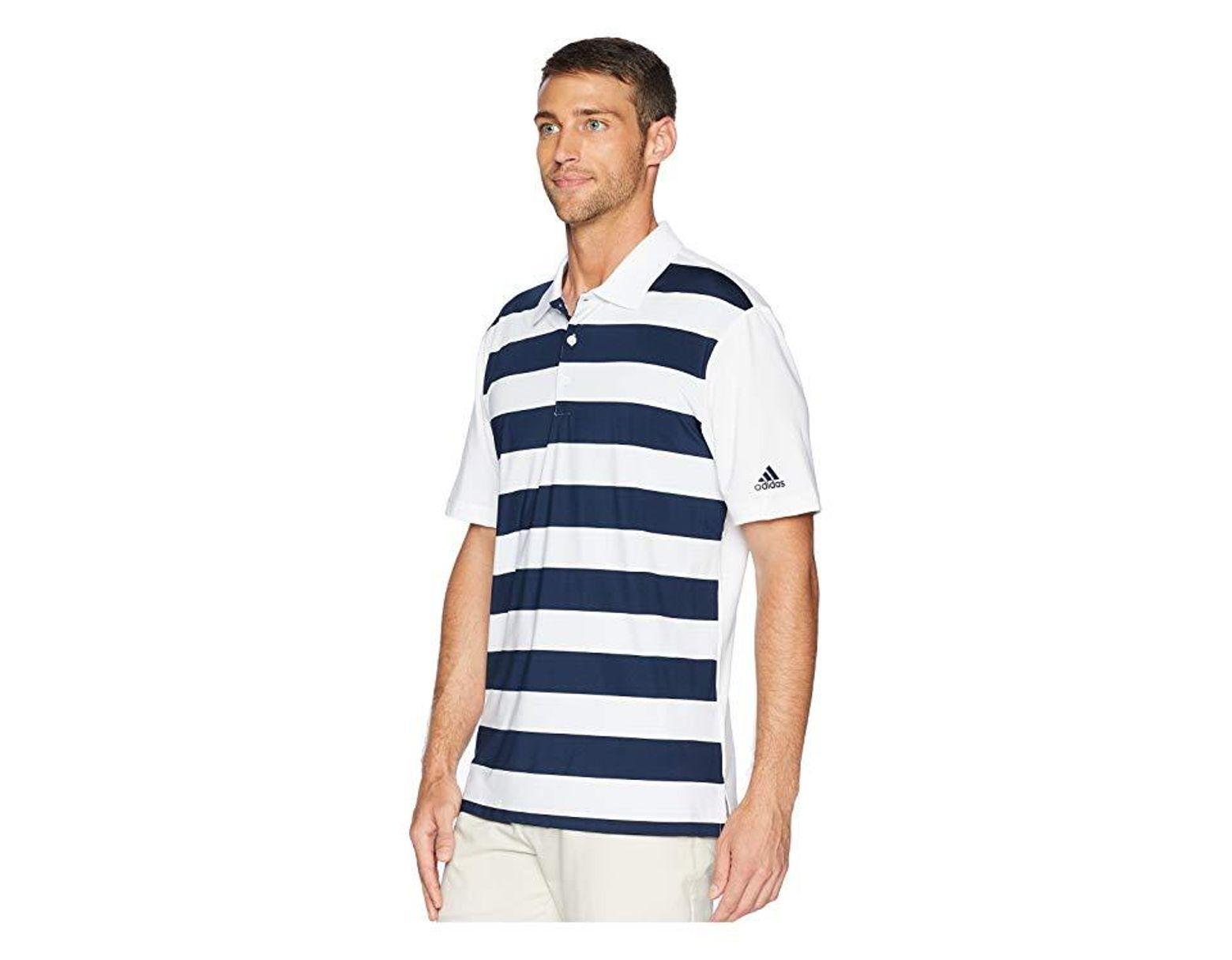 Rugby Adidas Originals Stripe Ultimate Navy Polowhitecollegiate 7fb6yg