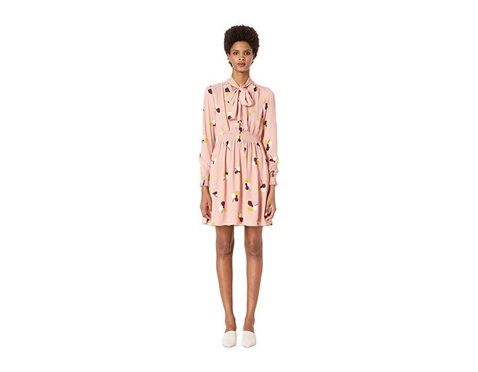 62cad07f9 Kate Spade Dusk Buds Print Mini Dress in Pink - Save 43% - Lyst