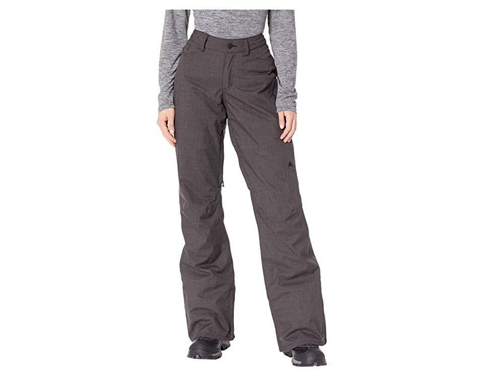 6961928fb431 Burton Fly Pant (true Black Heather) Casual Pants in Black - Save 14% - Lyst