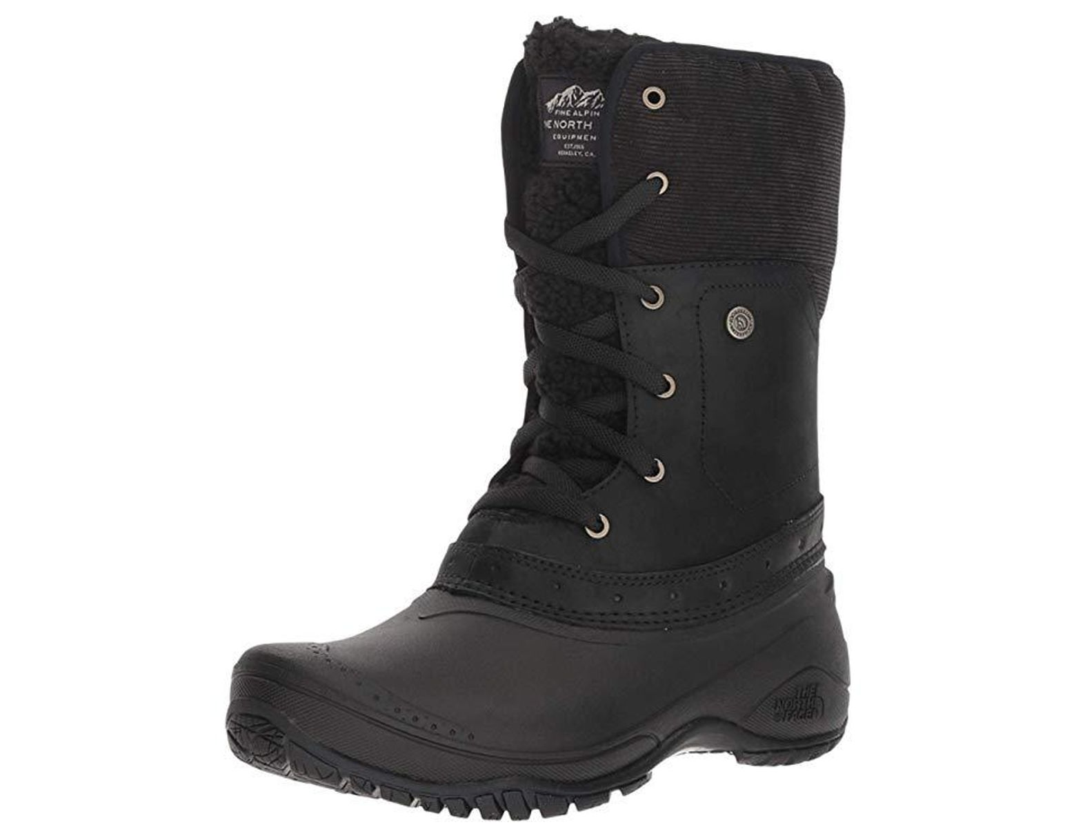 f422874674a18 The North Face Shellista Roll-down (tnf Black/weathered Black) Cold Weather Boots  in Black - Save 21% - Lyst