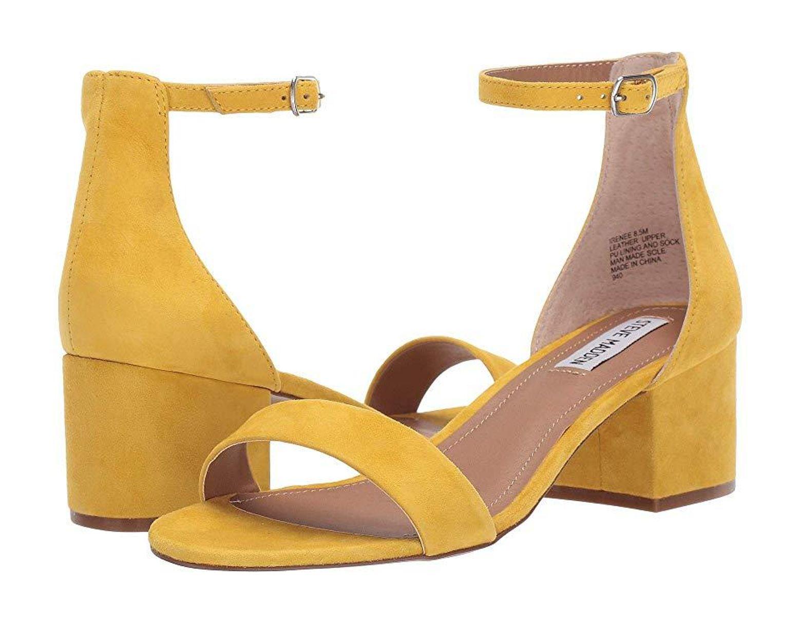 c98fe819d96 Women's Yellow Irenee Sandal (sunflower) 1-2 Inch Heel Shoes