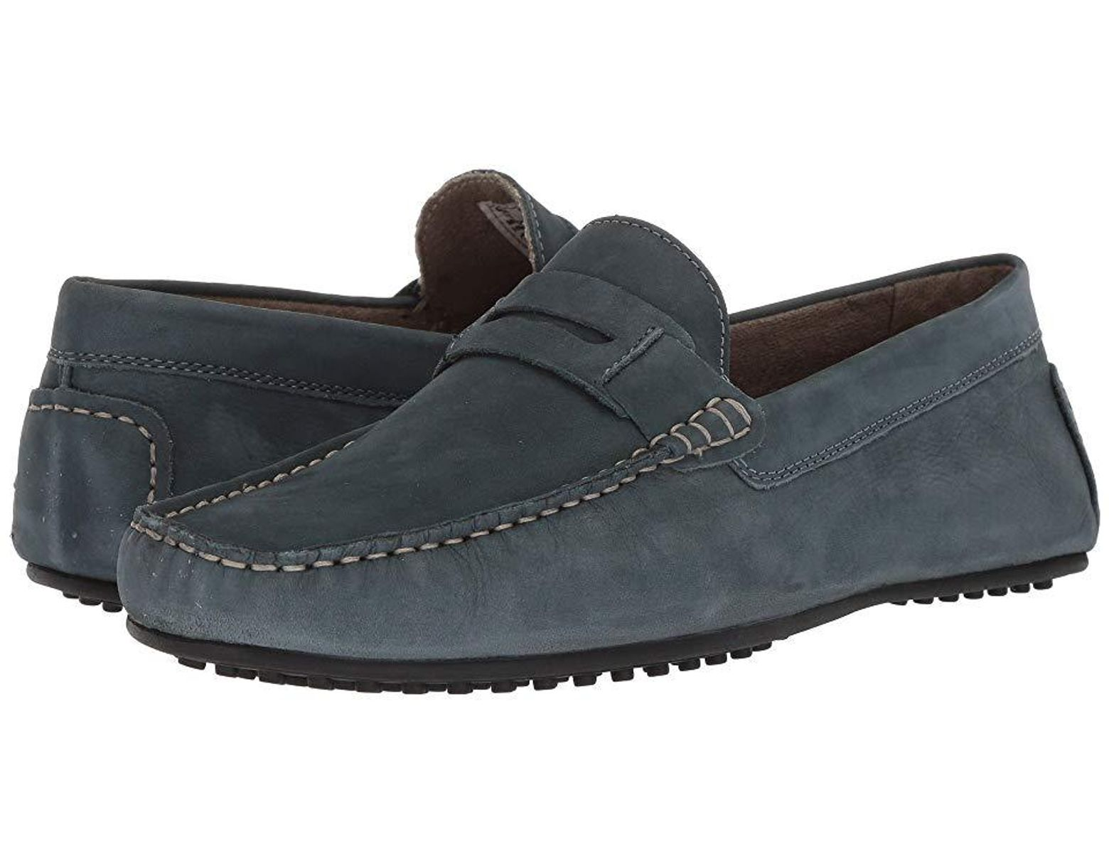 Hush Puppies VASTUS PENNY Mens Slip On Casual Moccasin Driving Loafers Shoes