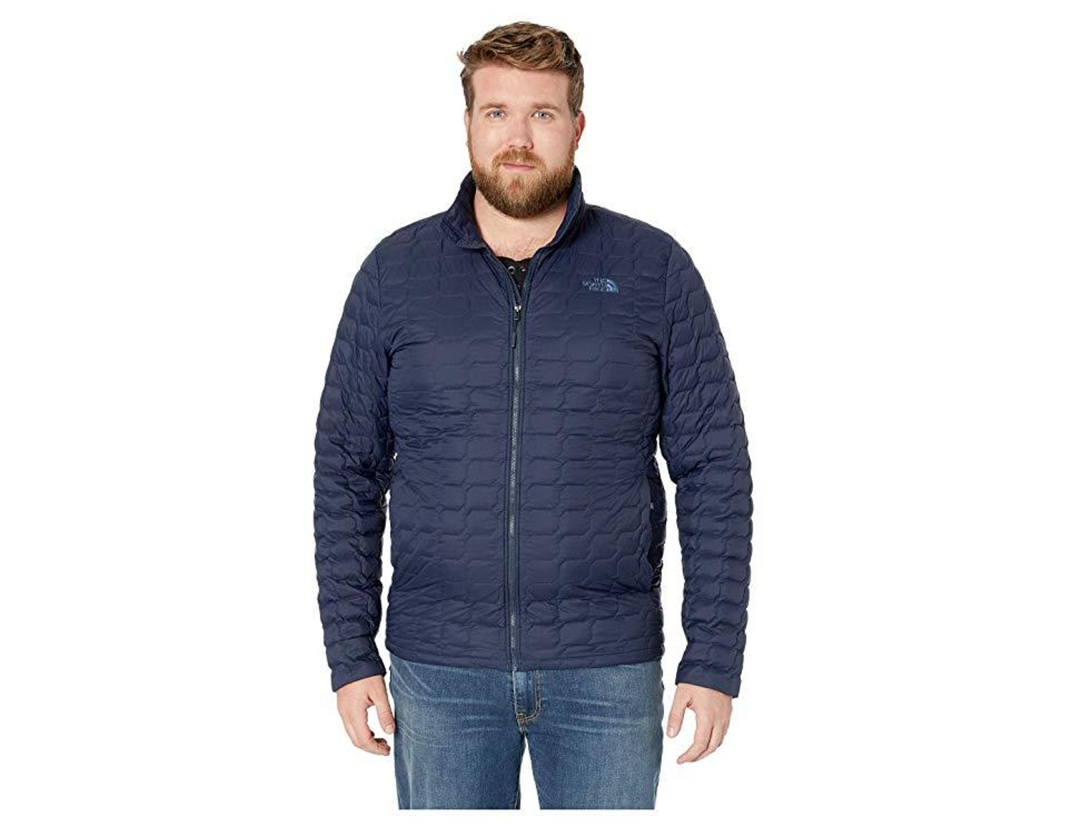 721a55d9 The North Face Thermoball Jacket - Tall (urban Navy Matte 1) Coat in Blue  for Men - Save 45% - Lyst