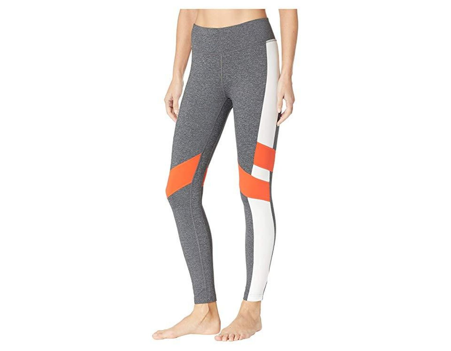 62dbe903841591 Reebok Lux Tights - Color Block (dark Grey Heather) Workout in Gray - Save  15% - Lyst