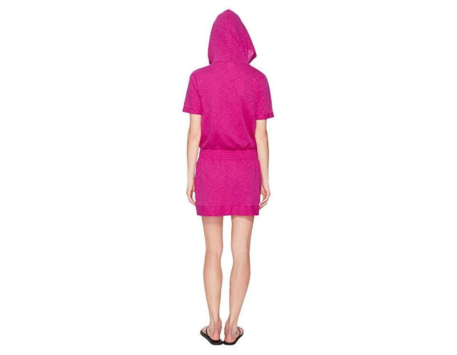 b3163bb64f07e Speedo Hooded Cover-up (very Fuchsia) Swimwear in Purple - Lyst
