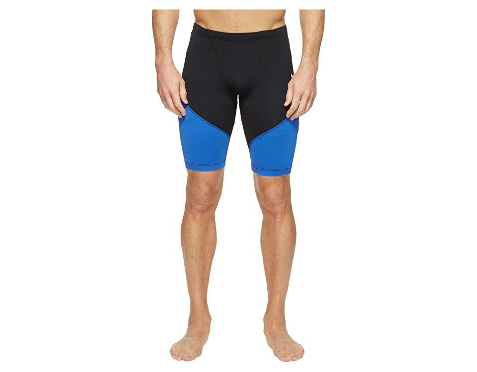 1031cfd853 Nike Surge Color Block 100% Poly Jammer (game Royal) Swimwear in Blue for  Men - Save 16% - Lyst