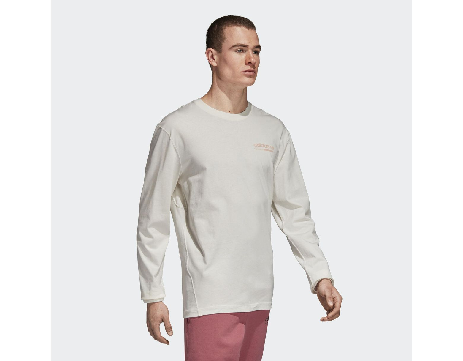 1f79eb6a604 adidas Kaval Tee in White for Men - Lyst