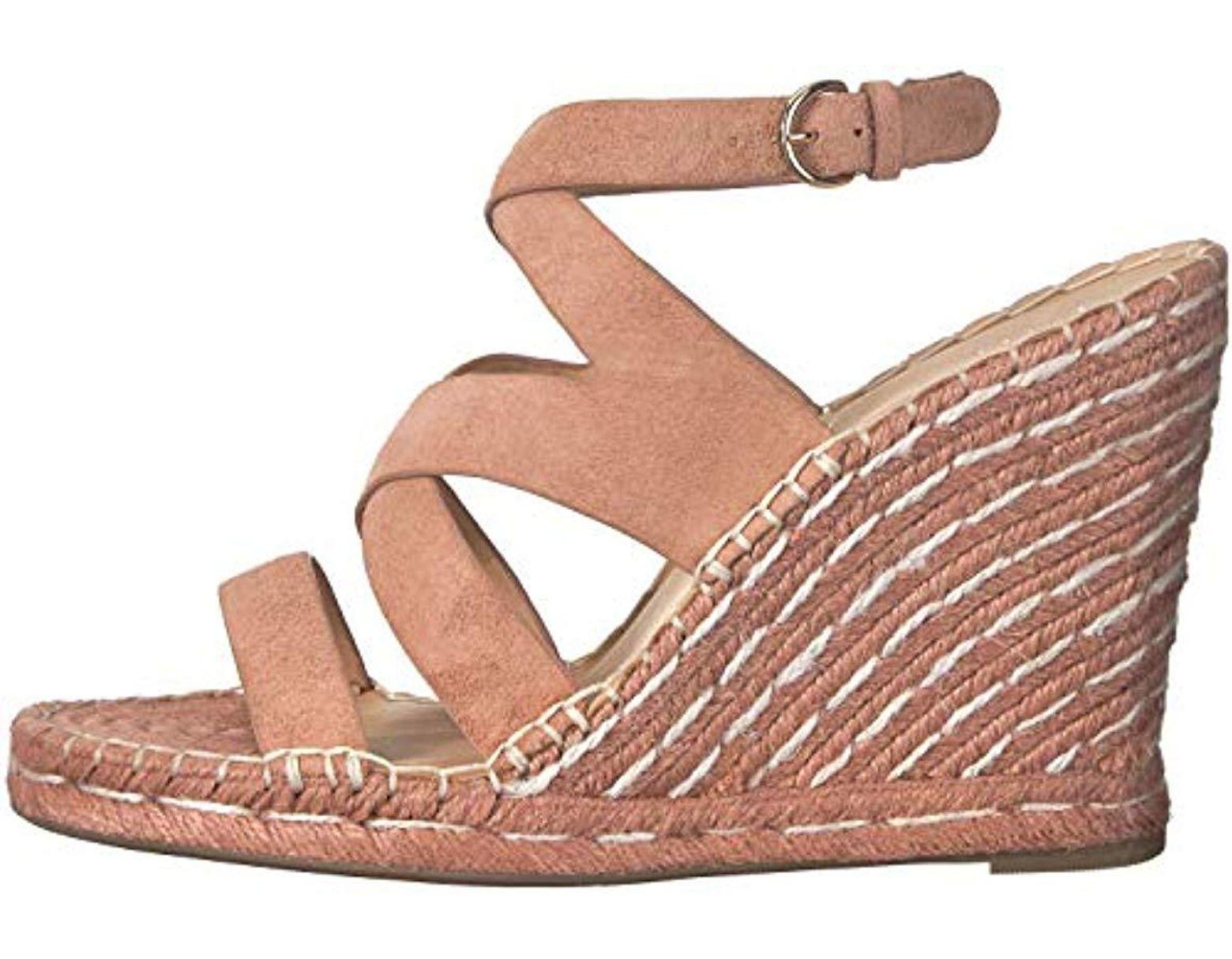 c1bd2b17b9d Women's Korrat Espadrille Wedge Sandal, Peach, 39 Regular Eu (9 Us)