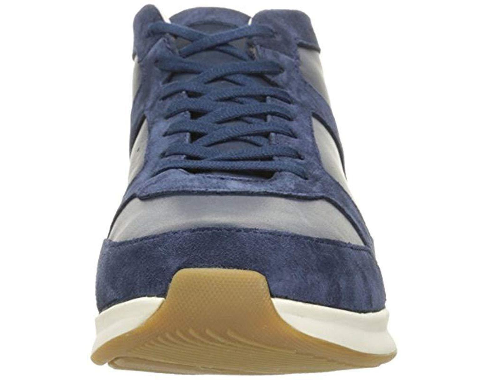 2b6356f6de Lacoste Joggeur Mid 316 1 Cam Fashion Sneaker in Blue for Men - Lyst