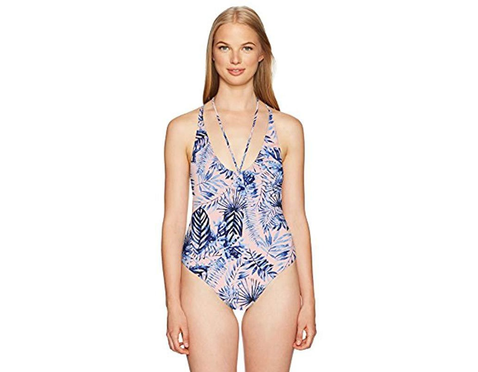 694cc29831fd3 Rip Curl Tropic Oasis One Piece Swimsuit in Blue - Save 28% - Lyst