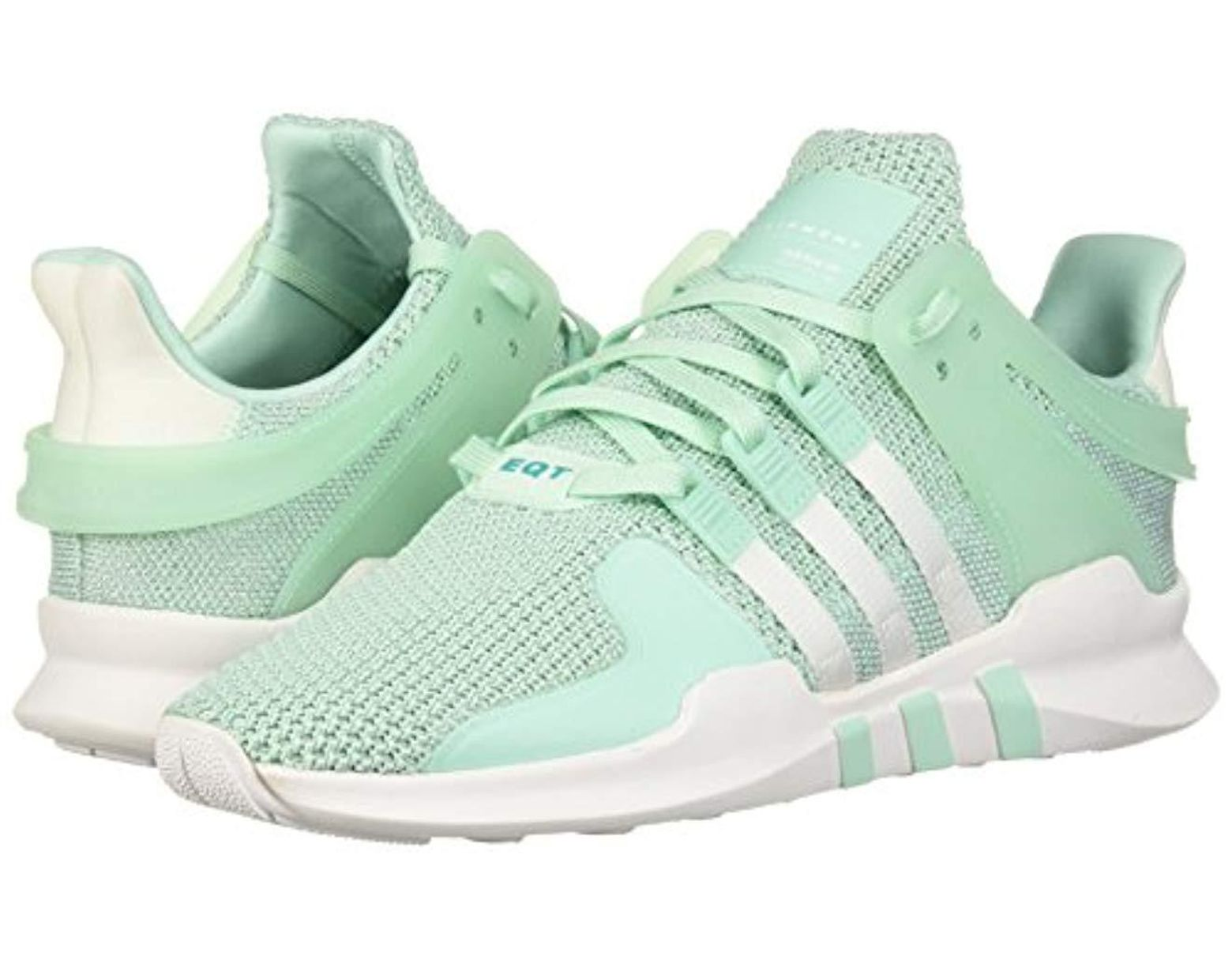 the best attitude c3b58 0666f Women's Eqt Support Adv Running Shoe, Clear Mint/white/hi-res Aqua, 10.5 M  Us