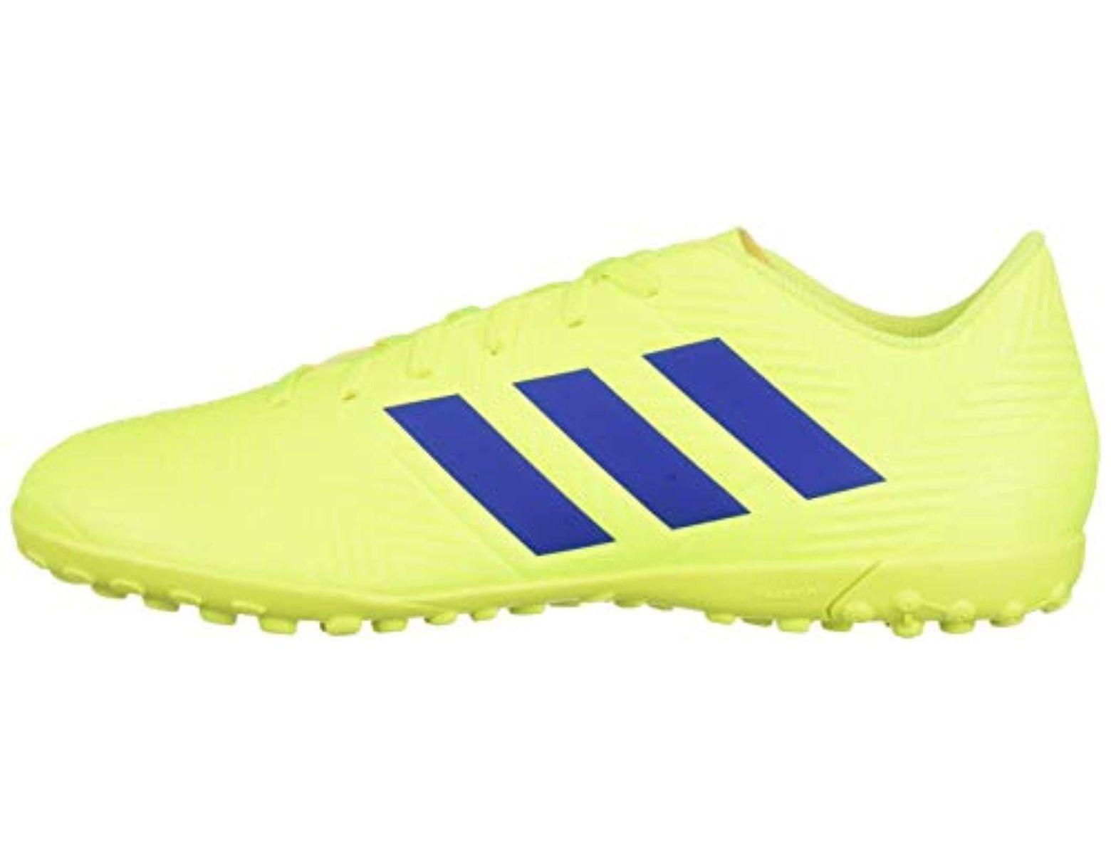 4f608fe3b adidas Nemeziz 18.4 Turf in Yellow for Men - Lyst