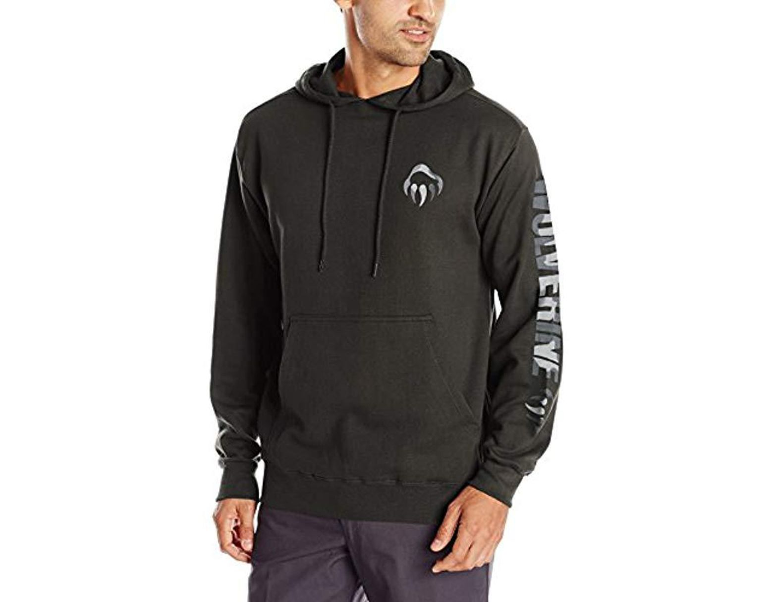 120482e70d8 Wolverine Graphic Camo Claw Hooded Sweatshirt in Gray for Men - Save ...