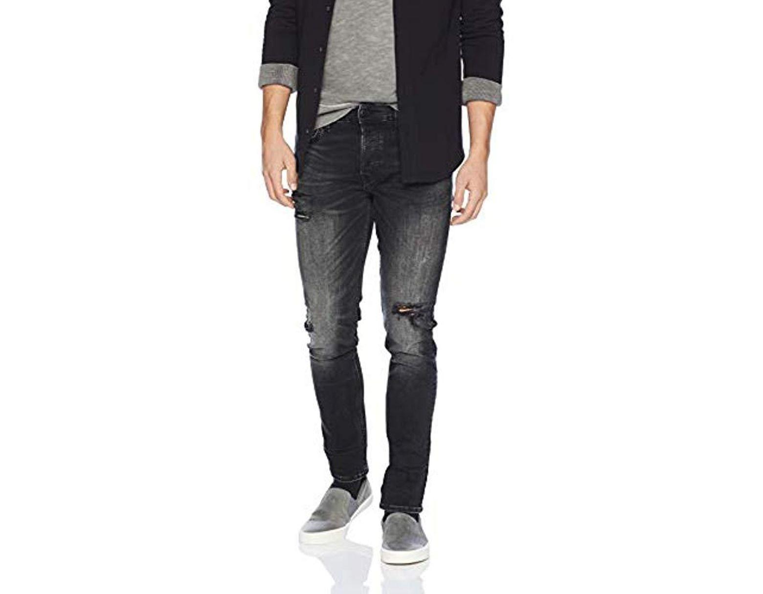 Hudson Jeans Mens Axl Skinny Zip Fly Jeans