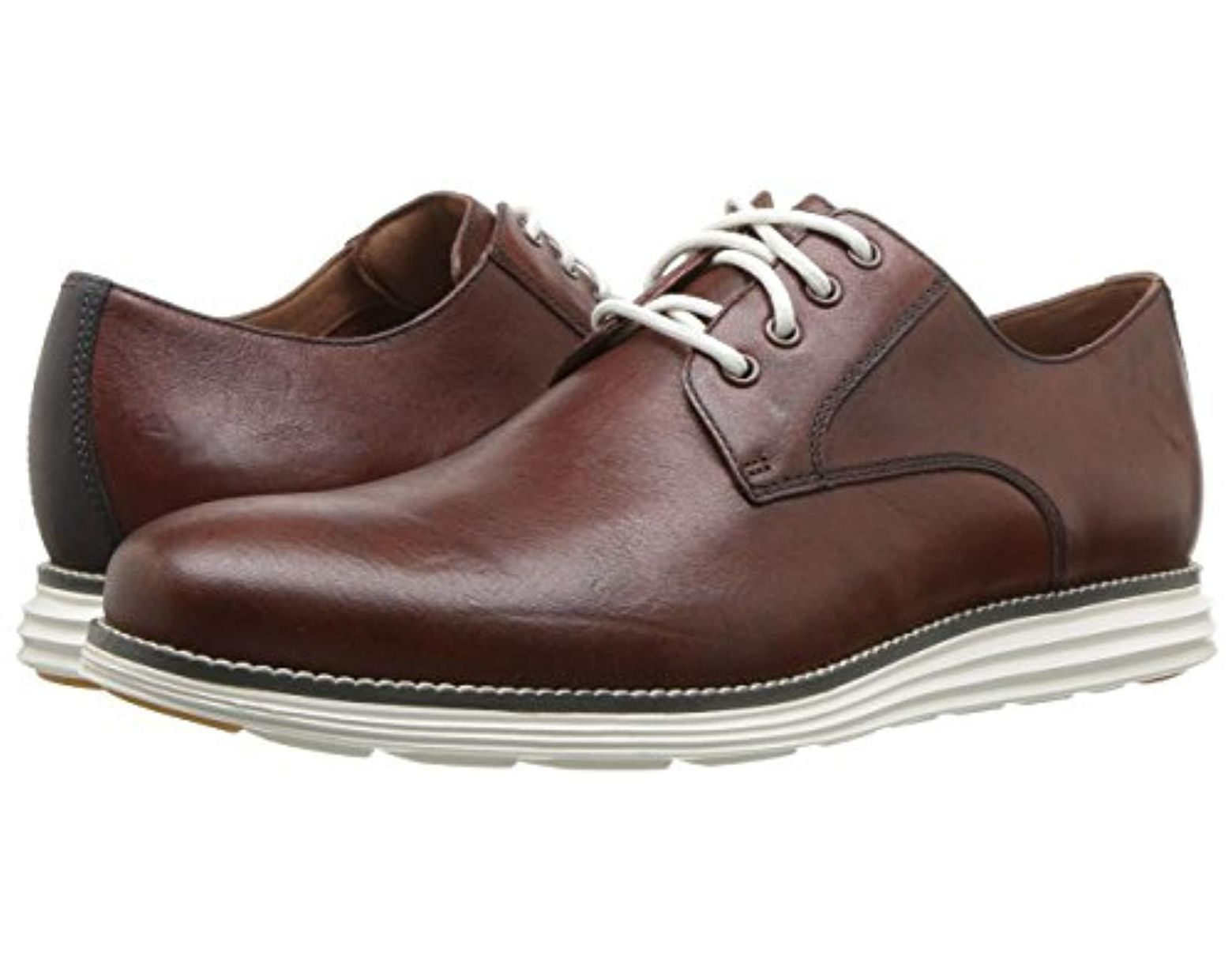 ab834ffa5b Cole Haan Original Grand Plain Toe (woodbury/magnet/wheat) Shoes in Brown  for Men - Save 43% - Lyst