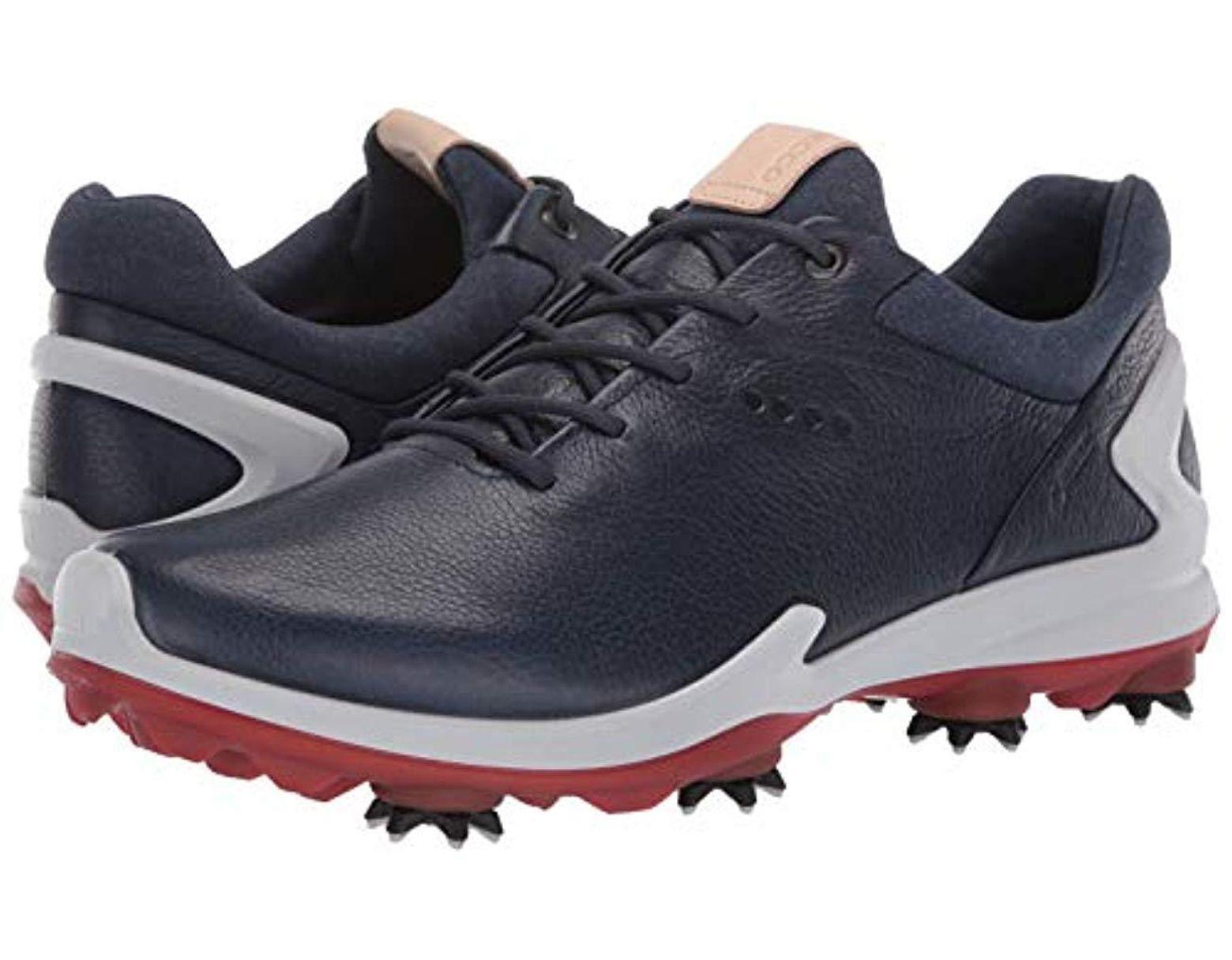 9080deaa8812a Ecco Biom G3 Gore-tex Golf Shoe in Blue for Men - Lyst